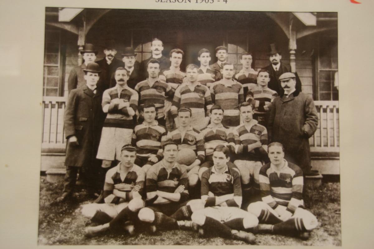 Saracens 1st XV 1903-04