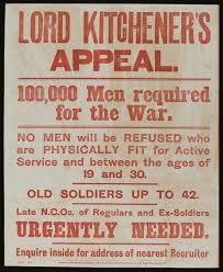 Volunteer Poster 1914