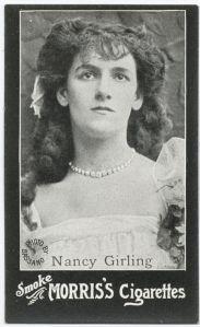 Nancy Girling Morris Cigarettes
