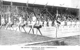 The British Team Perform Their Routine at Stockholm 1912