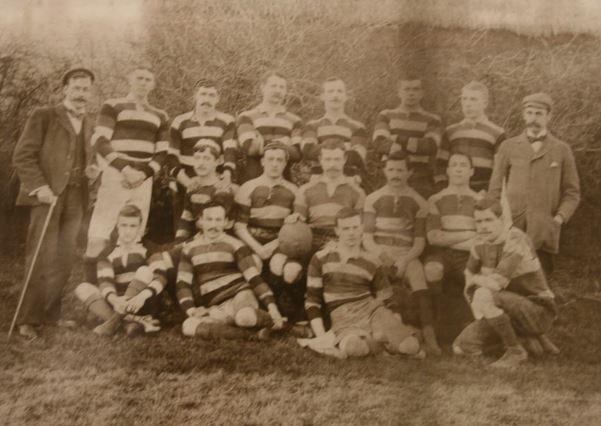 Saracens 1st XV 1896-97