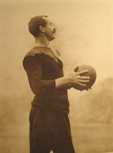 "Dave Gallaher- Captain of the 1905 ""originals"" New Zealand team"