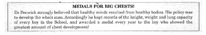 Percy Heddon - Medals for Big Chests