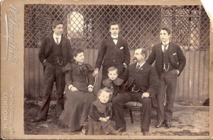 Sydney Sylvester and family c.1895