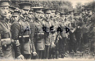 5th Battalion London Regiment Civil Service Rifles at Minster Camp 1910