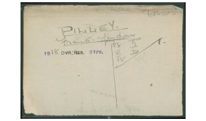 FL Pilley Service Card
