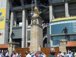 The 'Lion Gate' at Twickenham