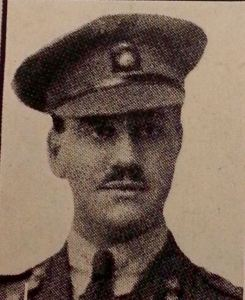 2nd Lt V.B. Barnett of D Company, 12th Battalion