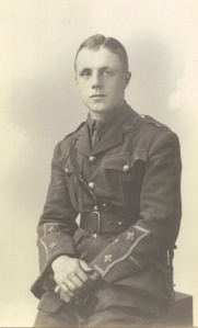 JS 'Stanley' Greer, who served with the 8th Battalion, Bedfordshire Regiment