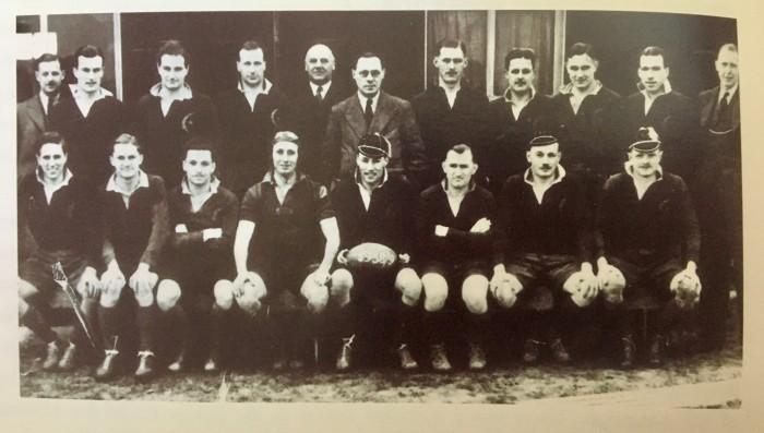 Saracens 1st XV 1938-39 season